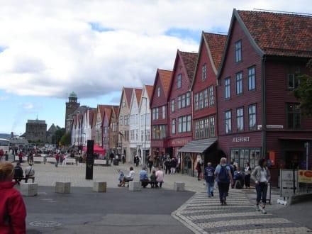 Häuserfassade - Bryggen