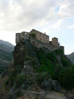 Burg von Corte - Zitadelle von Corte