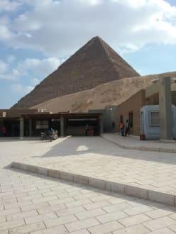 Ticketschalter Pyramiden von Gizeh - Ausflug nach Kairo