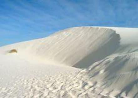 White Sands Sanddüne - White Sands National Monument