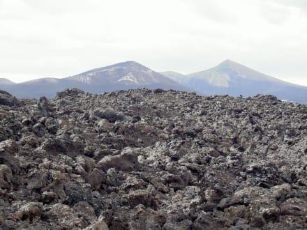 Vulkanausbruch Lanzarote - Nationalpark Timanfaya (Feuerberge)