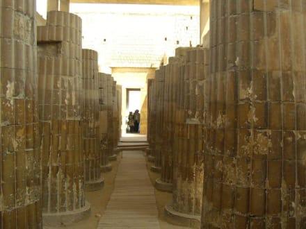 Eingang - Stufenpyramide / Pyramide von Djoser
