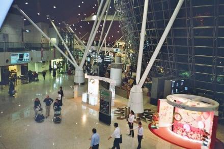 Die Haupthalle des Flughafens - Flughafen Kuala Lumpur (KUL)