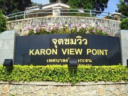 Nicht zu übersehen - Karon View Point