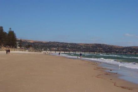 Spaziergang am Strand - Brighton Beach und Jetty
