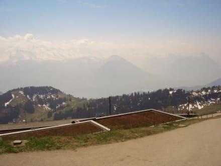 Blick vom Rigi Kulm - Rundtour Rigi