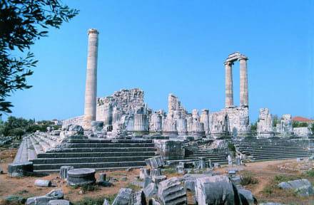 Türkei, Didim, türkische Ägäis - Apollon Tempel von Didyma