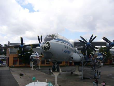 Eine ukrainische  Anotonv AN-22 - Technik Museum Speyer