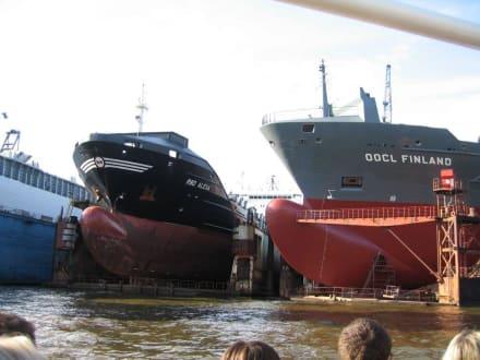 Trockendock - Hafenrundfahrt Hamburg