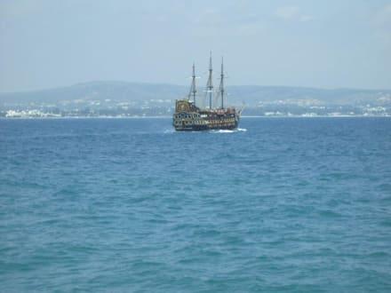Ausflug mit Piratenschiff - Piratenschifffahrt Hammamet-Yasmine