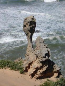 Felsformation - Brenton on Sea