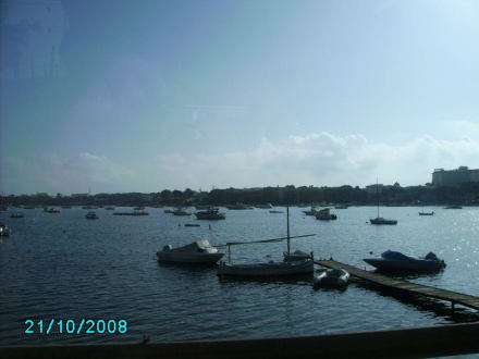 Der Hafen von Port Cristo - Yachthafen Porto Cristo