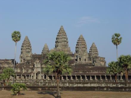 Kambodscha, Ankor Wat, Tempel - Tempel Angkor Wat