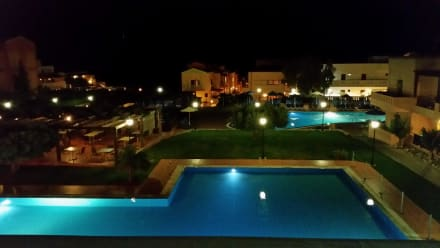 From our balcony -