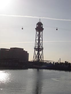 Teleferico - Hafen Barcelona