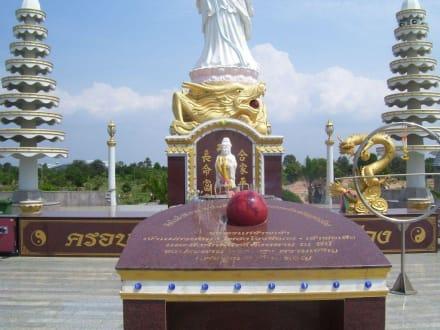 Chinesische Figuren - Tempel