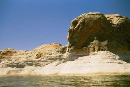 Blick vom Boot aus - Lake Powell