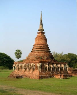 Wat Sorasak - Sukhothai Historical Park