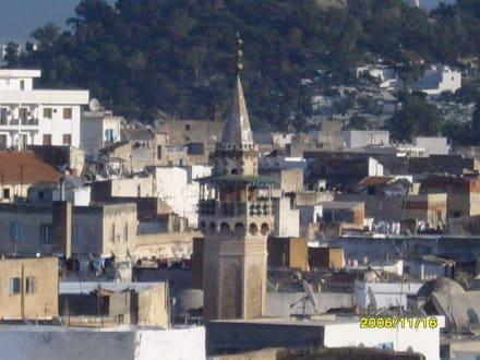 Ein Moschee Turm - Altstadt Tunis