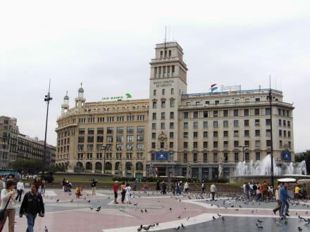 Placa de Catalunya - Platz von Katalonien