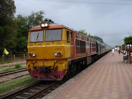 Eastern & Orientel Express - Historischer Bahnhof von Hua Hin