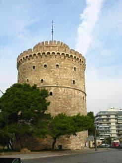 Der weiße Turm von Thessaloniki / Griechenland - Weißer Turm
