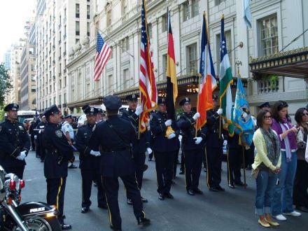 Anweisungen für die Fahnenträger - Steuben Parade New York