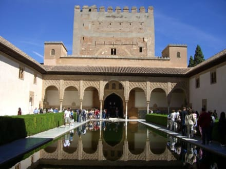 Myrtenhof im Nasridenpalst - Alhambra