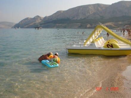 Strand in Baska! - Strand Baska