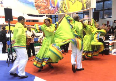 Dominikanische Tänze - ITB - Tourismuss Messe