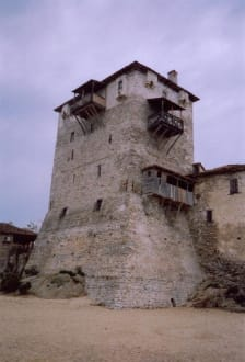 Wachturm in Ouranoupoli - Wehrturm