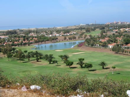 Der Golfplatz von Maspalomas - Golfplatz Maspalomas