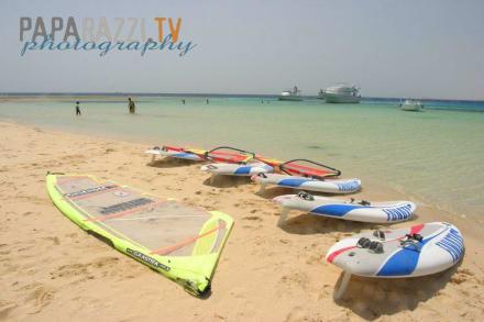 Tubya Island Beach - Windsurfschule Vasco Renna