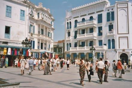 Tunis - Place de la Victoire - Altstadt Tunis