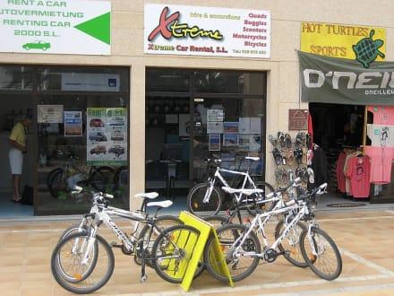 Fahrradverleih Xtreme Car Rental Costa Calma in Costa Calma