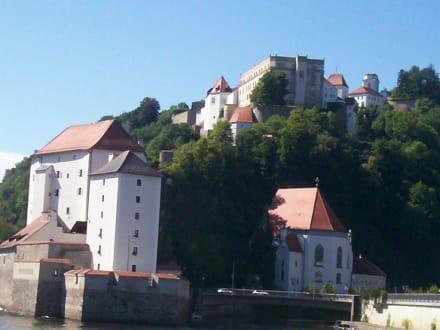 Blick aufs Oberhaus - Altstadt Passau