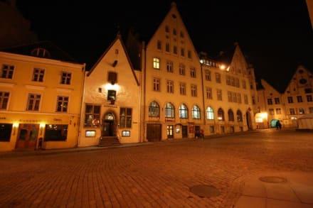 Altstadt am Abend 1 - Altstadt Tallinn/Reval