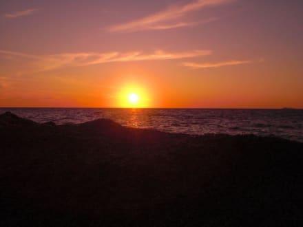 Sonnenuntegang - Strand Mastichari