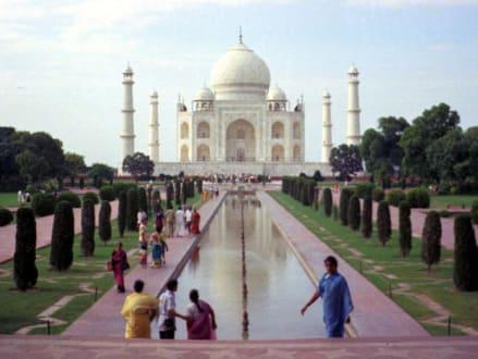 Taj Mahal (Tatschmahal) in Agra - Taj Mahal