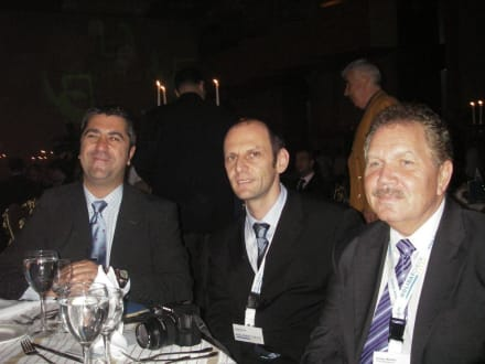 Salvador Elena, Hakan Öktem und Günter Mauthe - HolidayCheck Award Gala