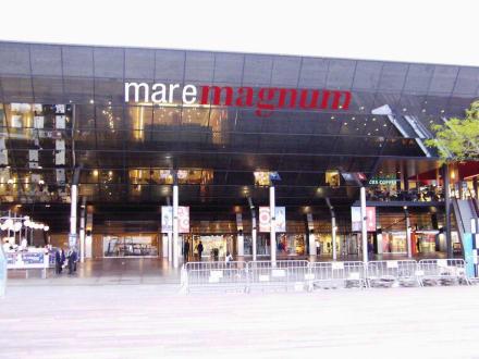 """das Einkaufs- und Freizeitzentrum """"Maremagnum"""" - Maremagnum"""