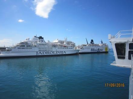 Hafen von Split - Hafen Split