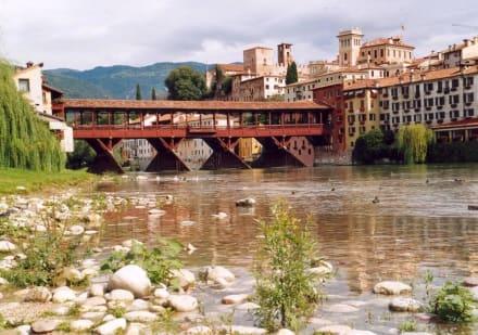 Brücke von Bassano - Ponte degli Alpini
