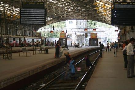 Bahnhof in Mumbai - Bombay