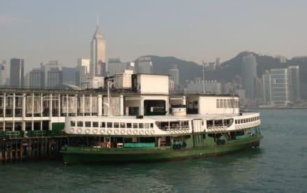Fähre von Kowloon nach HK-Island - Fähre Kowloon-Hongkong Island