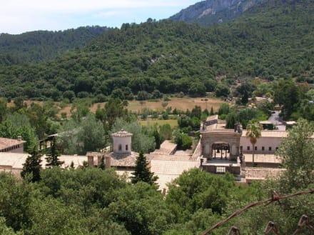 Blick auf Kloster Luc - Santuari de Lluc