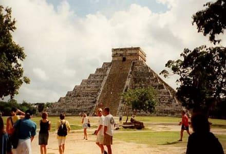 Die Pyramide - Ruine Chichén Itzá