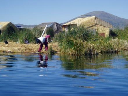 Morgenwäsche - Stadt Puno