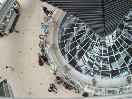 Bundestag - Glaskuppel - Bundestag / Reichstag