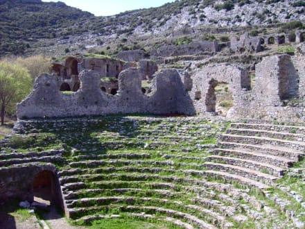 In Anamur - Antike Siedlung Anemurion